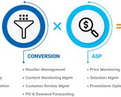 Ecommerce equation: Traffic * conversion * ASP = Sales
